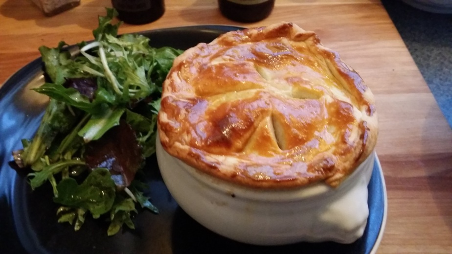 Individual rabbit pies, oh my!